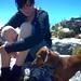 Kiki and Fritz on the mountain top