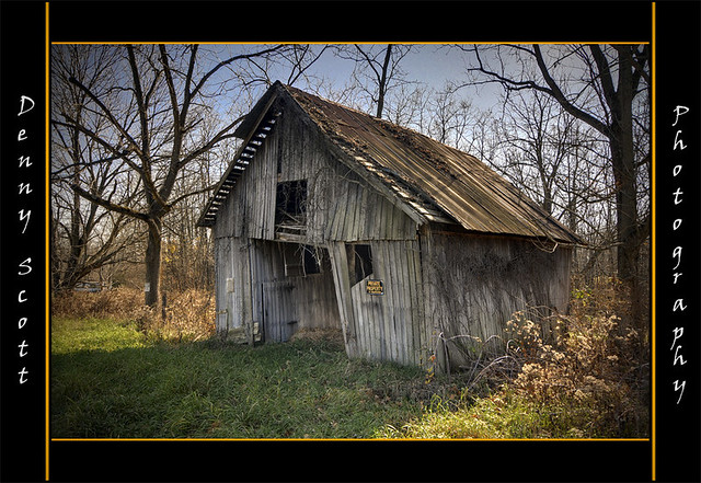 Old Barn In Greencastle Indiana