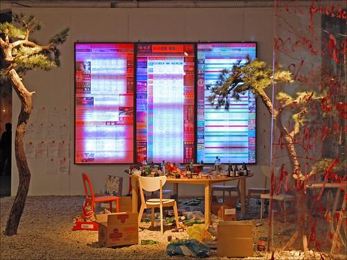 le jardin de pins xe biennale de lyon le jardin de