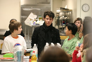 Nick Jonas Hangs Out With NTFB Volunteers | by The North Texas Food Bank
