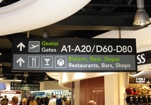 Dublin Airport Sign | by Wayfinding UK