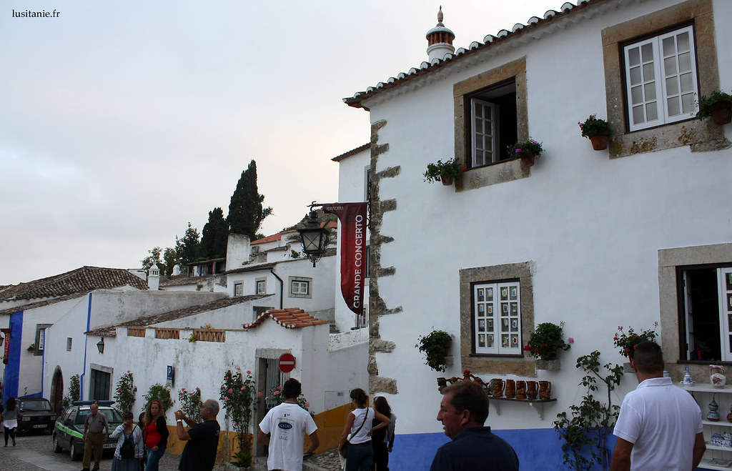 Obidos est connue pour sa vie culturelle