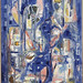 Collage in Blue, 1957