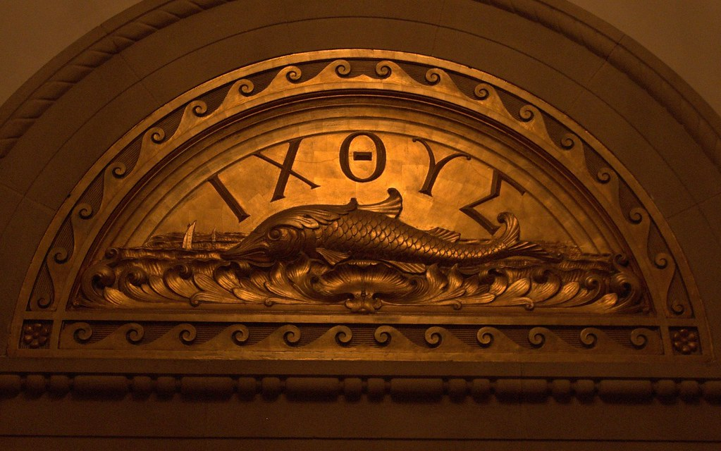Fish With Greek Letters
