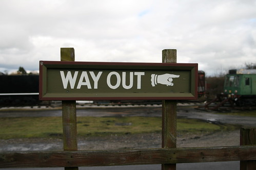 WAY OUT ☞ | by psd