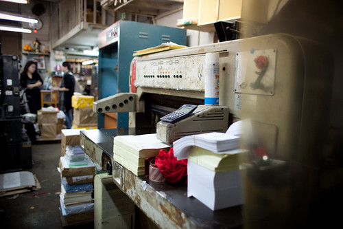 Printing Shop. Wing Lee Street 永利街 | by H.L.Tam