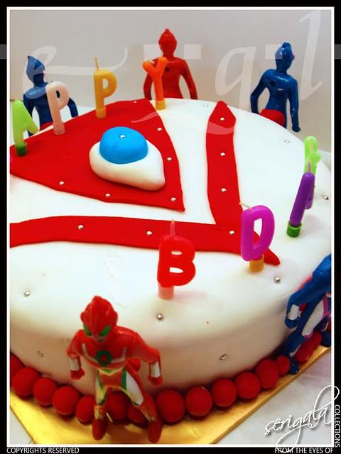 Ultraman Image Cake