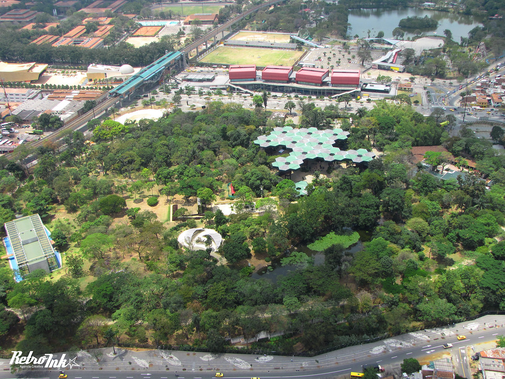 jardin botanico medellin fotografia aerea de el jardin