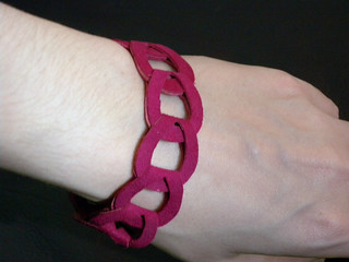 Suede Chain Magenta | by fortune_32