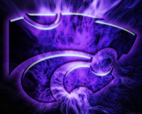 kansas state logo purple fire photoshop kstate 1280 x