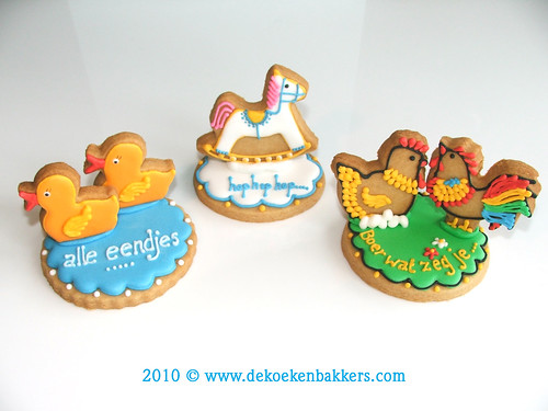 3D Cookies for kids | by De Koekenbakkers