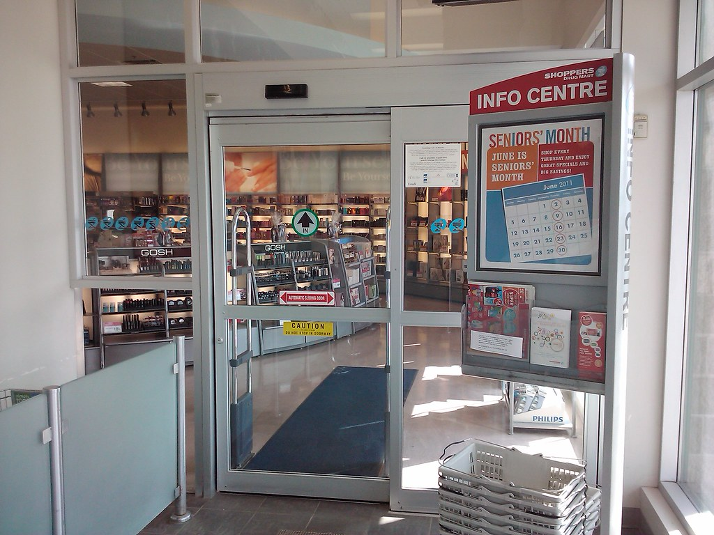 Etonnant ... Gyro Tech Doors At Shoppers Drug Mart | By Huy Dang