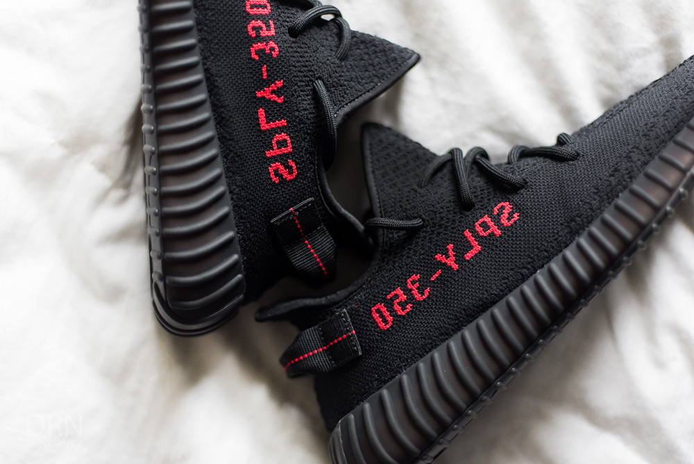 Adidas Yeezy 350 V2 Kids Toddler 10K Kanye West Bred Black