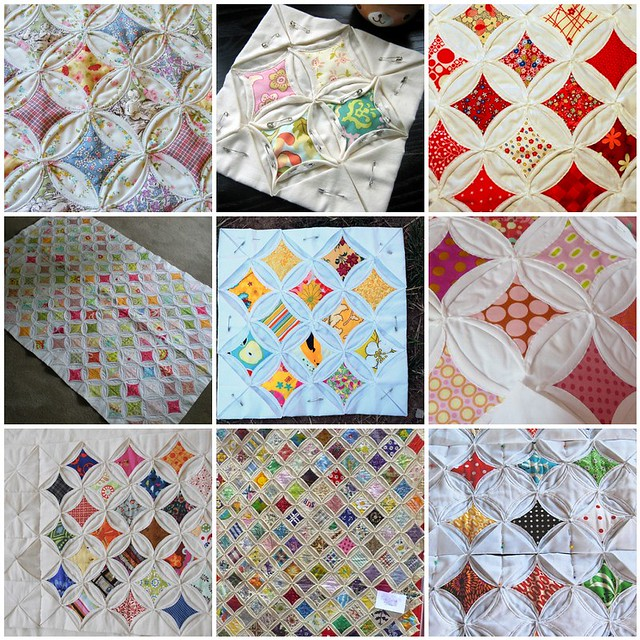 Cathedral Window Quilt Inspiration 1 Cathedral Window