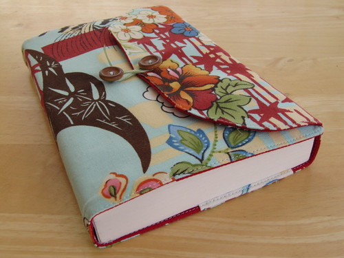 Book Cover Sewing Quarters : Bookcover carrie bee flickr