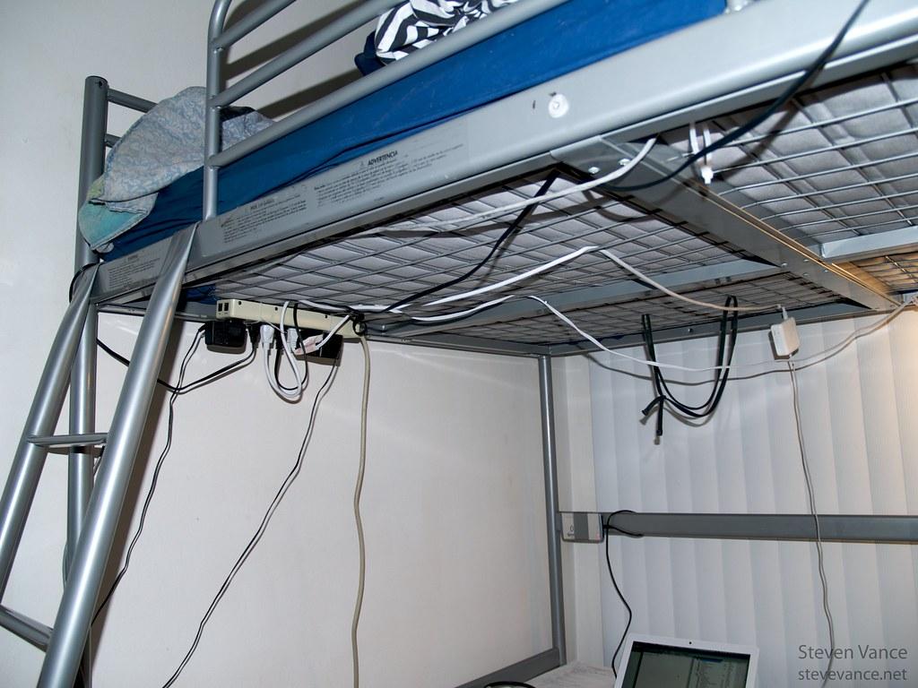 Ikea Tromso Loft Bed The Underside Of My Ikea Tromso Loft Flickr