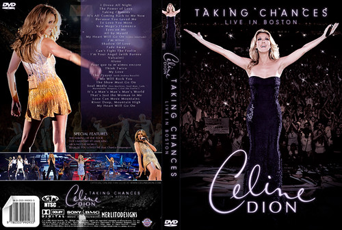 Celine Dion: Taking Chances (Live In Boston) | Merlito Designs ...