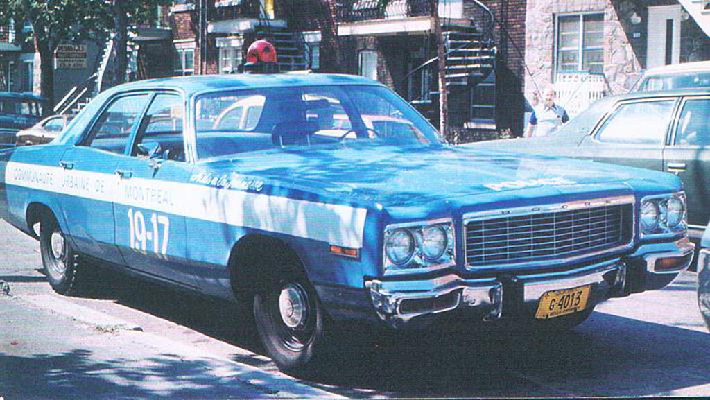 voiture de police dodge 1973 section aide la jeunesse po. Black Bedroom Furniture Sets. Home Design Ideas
