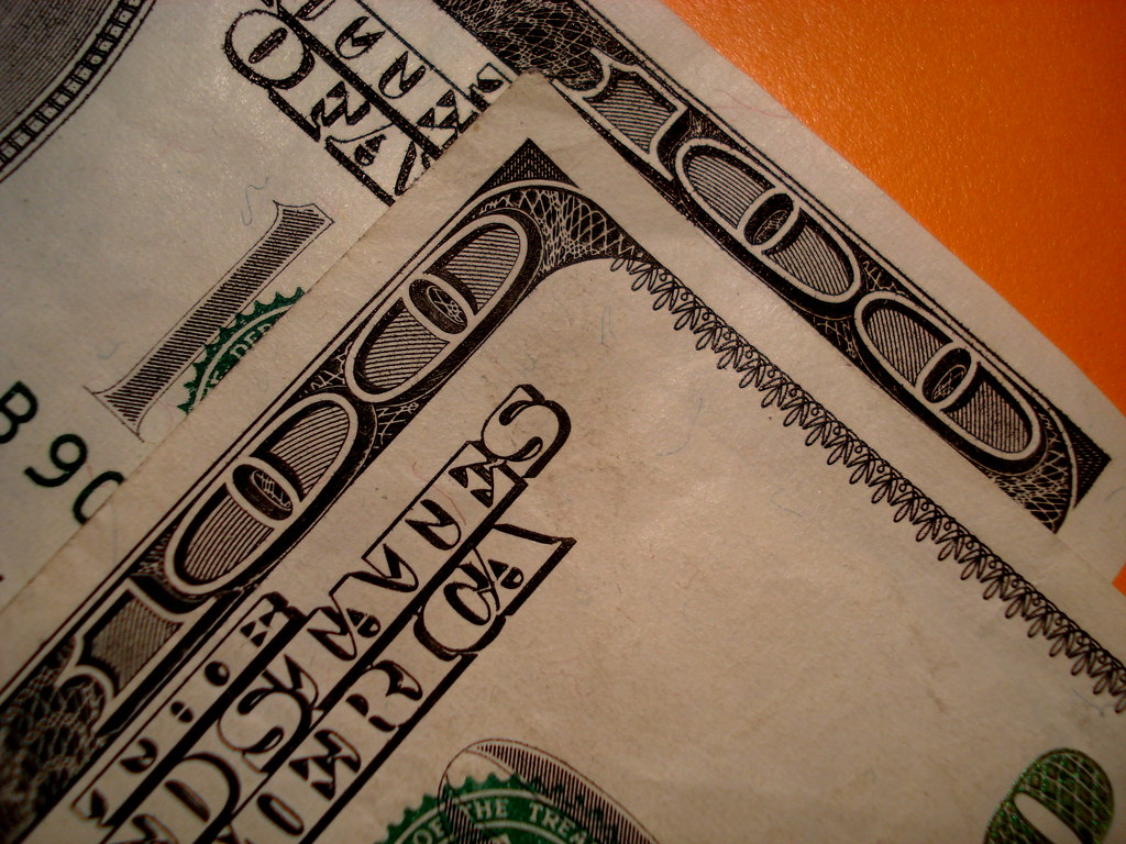 Two Hundred Dollars 2 | Two one hundred dollar bills. View ...