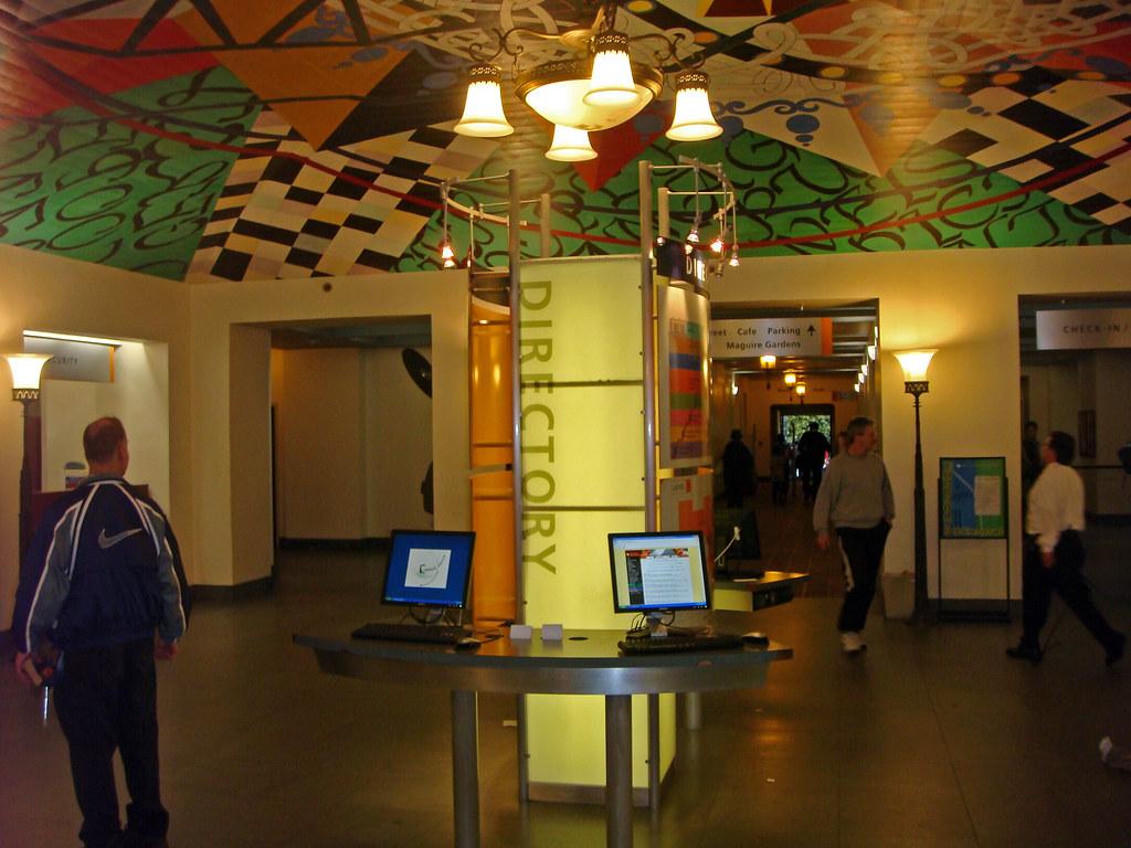 10 Los Angeles Public Library - Information Desk - Central… | Flickr