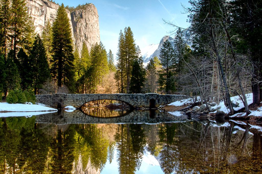 Happy Isles Bridge Yosemite National Park Canon 5d Mark
