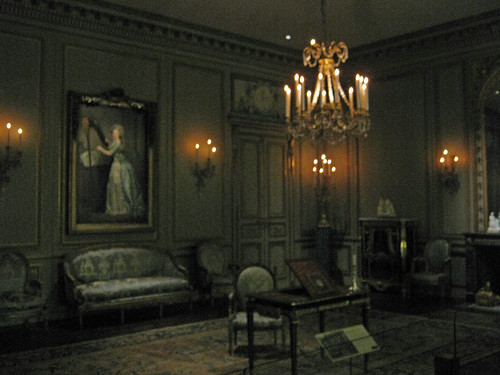 Period room formal reception room from the hotel de tesse for Period hotel