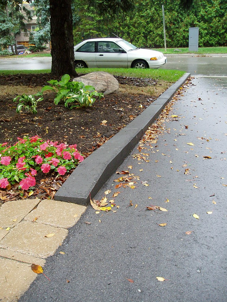 curb appeal along driveway check out rainbow landscaping s flickr