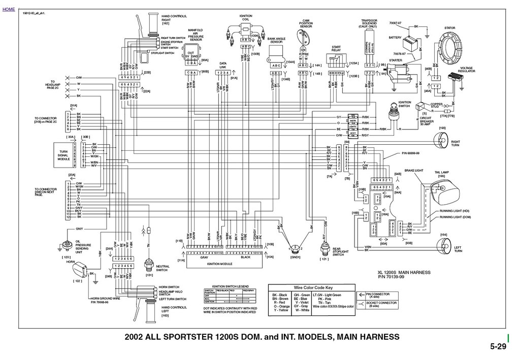 factory 2002 sporty wiring diagram biltwell inc flickr Harley-Davidson Radio Wiring Diagram