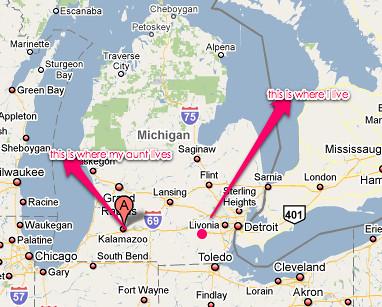 Michigan >> kalamazoo mi - Google Maps | Uploaded with plasq's Skitch | Flickr