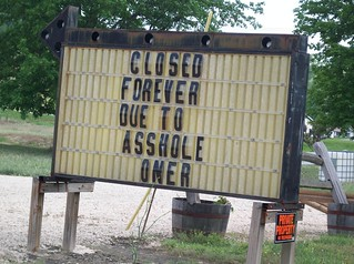 CLOSED FOREVER! | by passiveaggressivenotes