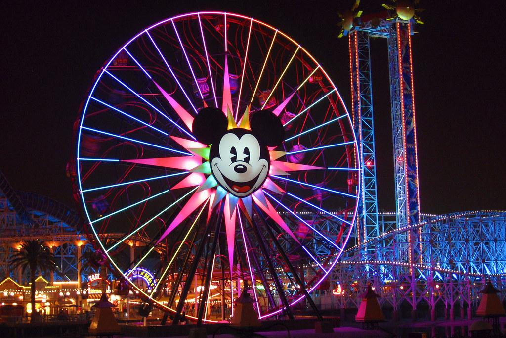 Mickey S Fun Wheel California Adventure Curtis And