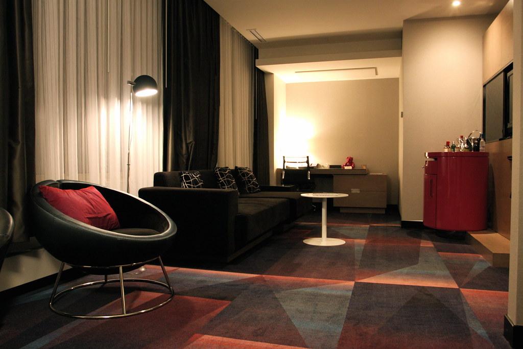 Fantastic Suite Living Room - W Minneapolis, The Foshay ...