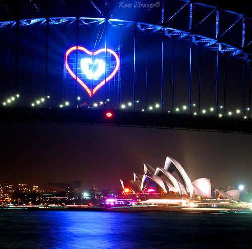 Happy Valentine's Day - Sydney style | by kees straver (will be back online soon friends)