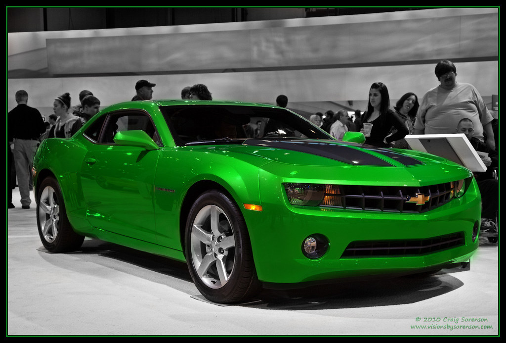 Camaro Lime Green Paint