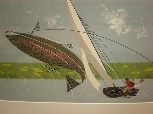 Charley harper fishing on lake keuka august 1964 30 for Charley s fishing