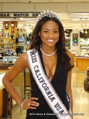 Miss California Usa 2007 Meagan Tandy At Inta Gems Flickr