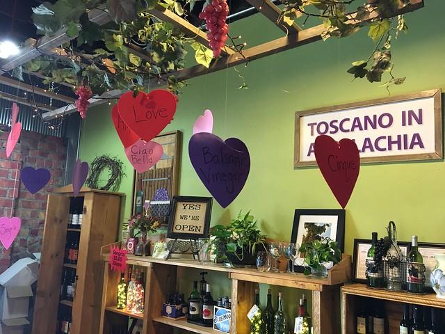 Toscano in Appalachia