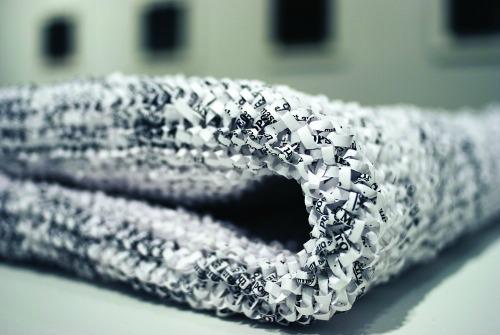 Paper Art Exhibit - Stefana McClure Manner of Death (detail)