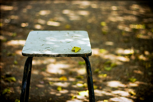 fall on chair | by Victor Bezrukov