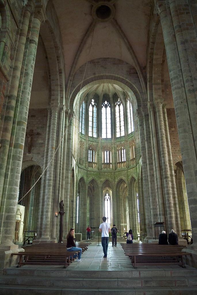 Interior de la Abadía de Mont Saint Michel | © 2007 Pedro M.… | Flickr