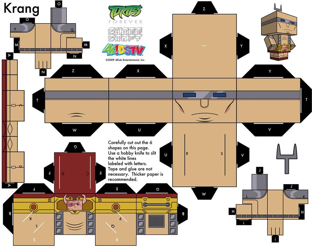 Поделки из картона черепашки ниндзя