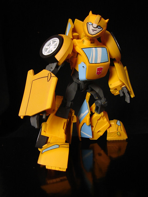 Bumblebee G1 Cartoon Style | First of all, I resculpted his … | Flickr