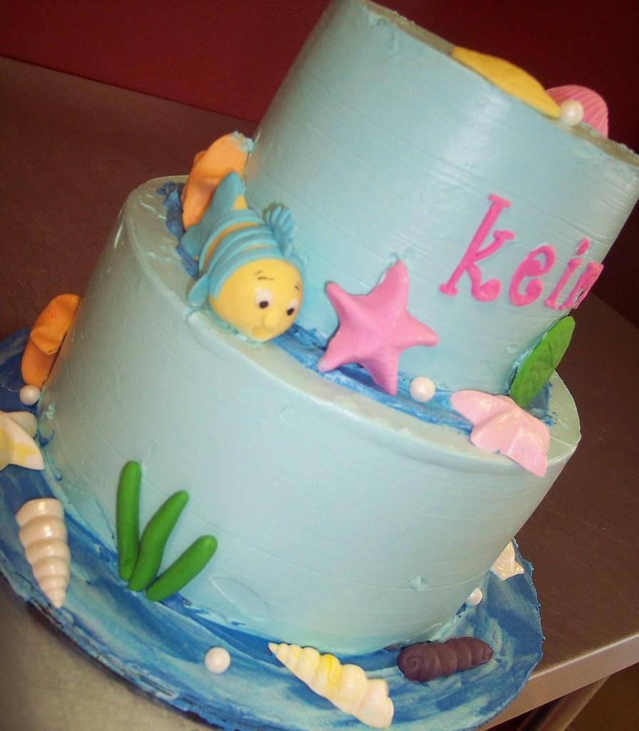 Little Mermaid Birthday Cake Carolina Cakes Confections Flickr