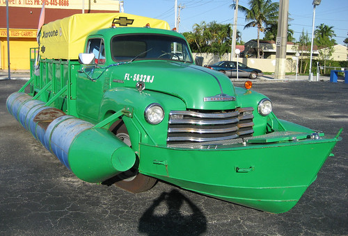 Replica of converted Chevy truck/boat | The Miami Herald ...