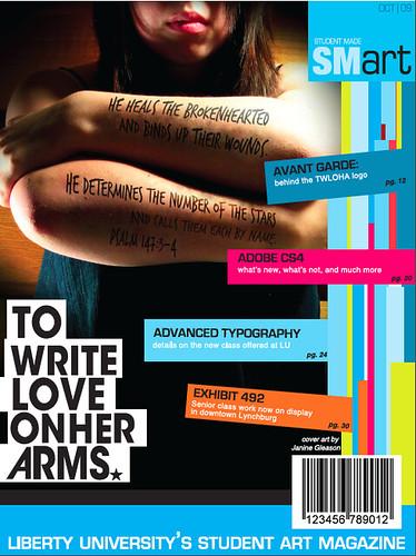 blog magazine cover design