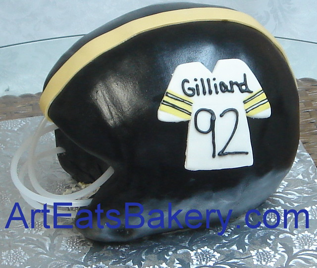 3d football helmet cake instructions