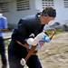 CGC OAK crewmember carries injured