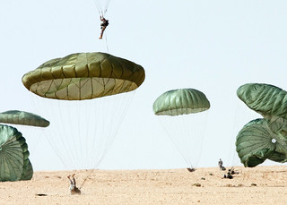 Dropzone landing | by The U.S. Army