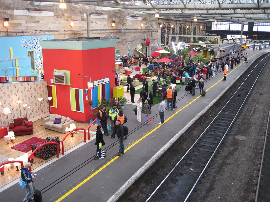 Homebase TV Advert Carlisle Station Homebase Are Filming Flickr