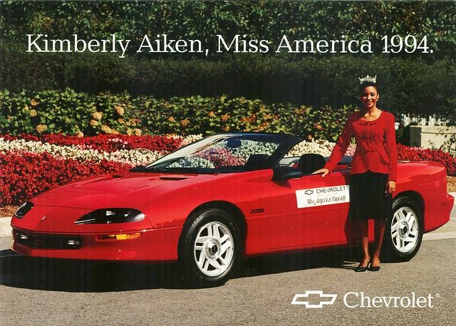 1994 Chevrolet Camaro, Kimberly Aiken, Miss America 1994 | Flickr